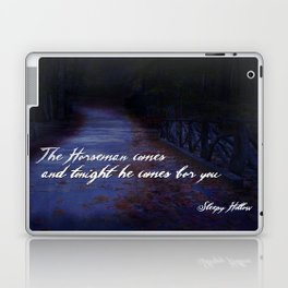 The Horseman comes for you... Laptop & iPad Skin