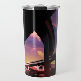 Sci-Fi Freeway Travel Mug