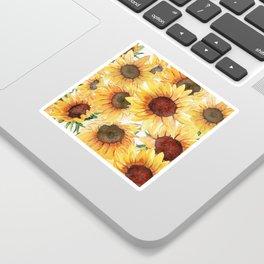 Sunflowers Bloom  Sticker