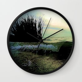 Crested Tide Wall Clock