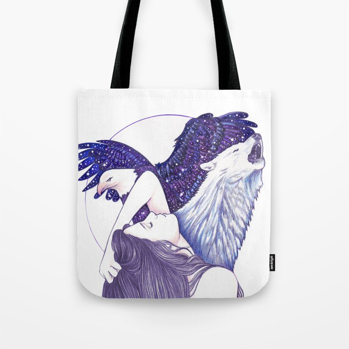 Wings Of An Eagle Tote Bag