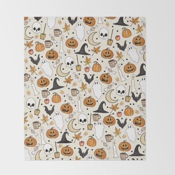 Happy Halloween Decke