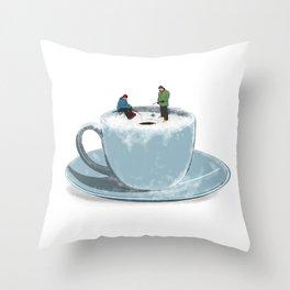 Cold Brew Throw Pillow