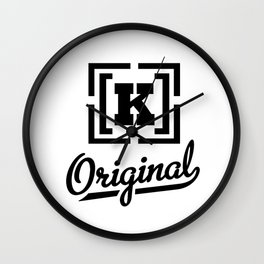 K_original Wall Clock