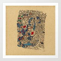 medieval Art Prints featuring - medieval - by Magdalla Del Fresto