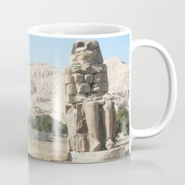 The Clossi of memnon at Luxor, Egypt, 3 Coffee Mug