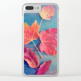 The Colors of Autumn Clear iPhone Case