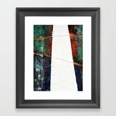 Silent Pathway Framed Art Print