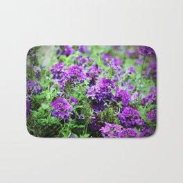 Purple Verbena Bath Mat