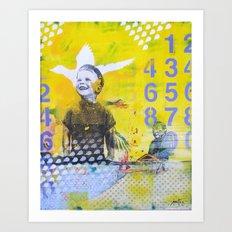 Numero Art Print