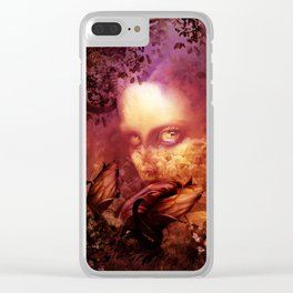 Violet fairy (Catch) Clear iPhone Case