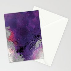 Purple Rain Stationery Cards