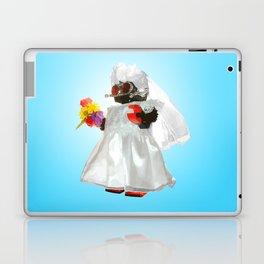 Bridebot Blue Laptop & iPad Skin