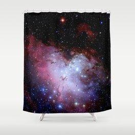 Eagle Nebula / pillars of creation Shower Curtain