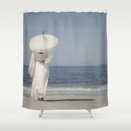 Waiting III Shower Curtain