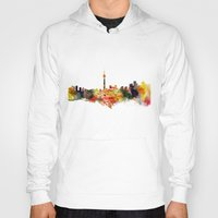 toronto Hoodies featuring  Toronto  by mark ashkenazi