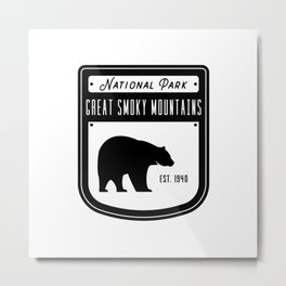 Great Smoky Mountains Metal Print