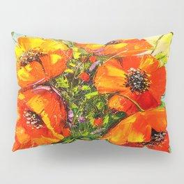 Bouquet of poppies Pillow Sham