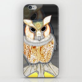 Conceptualized Owl iPhone Skin