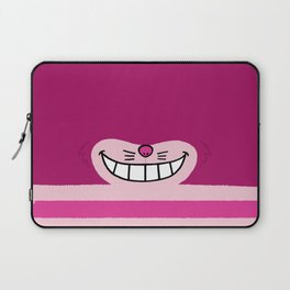 We Are Mad Here-Mask Laptop Sleeve