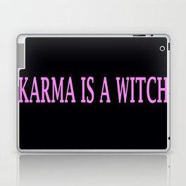 Karma Is A Witch Laptop & iPad Skin