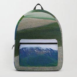 Mendenhall Glacier Lake Alaska Backpack