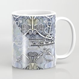 Silver ^ Pewter Butterfly Collage Coffee Mug