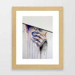 Jay Freestyle - Girl painting Framed Art Print