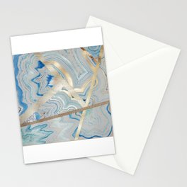 Agated Stationery Cards