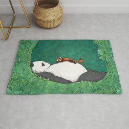 My Neighbor Panda Rug