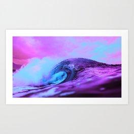 Tidal Waves Art Print