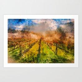 Hills of Tuscany Art Print