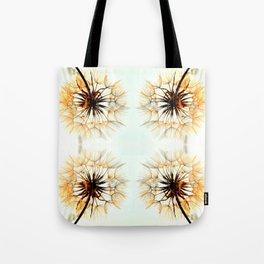dandelions mosaic Tote Bag