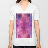 trippy V-neck T-shirts featuring TRIPPY by Joelle Poulos