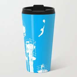 Factory Jump (white) Travel Mug
