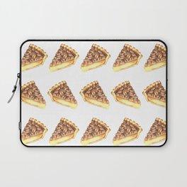 Watercolor Pecan Pie Pattern Laptop Sleeve