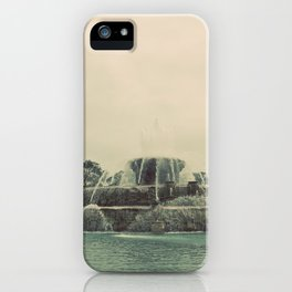 Buckingham Fountain Chicago iPhone Case