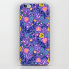 Flora Delight iPhone & iPod Skin