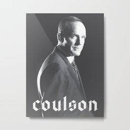 Coulson Metal Print