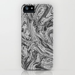 Grey Grass iPhone Case