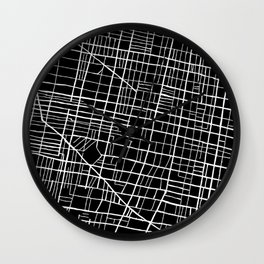 South Philly Map Wall Clock