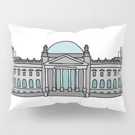 Reichstag building in Berlin Pillow Sham