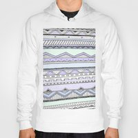 tribal Hoodies featuring Tribal by Fay Newman