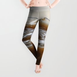 Coffee drop mushroom Leggings