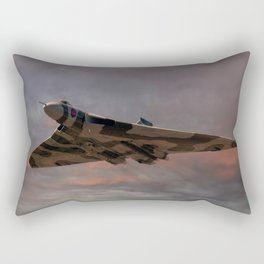 Vulcan Bomber Rectangular Pillow