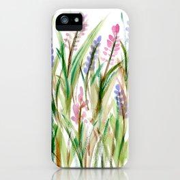 Lavender Watercolor No. 1 iPhone Case