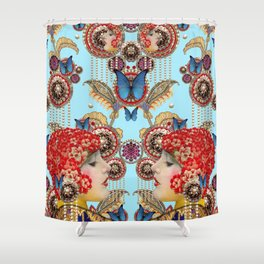 Pandora Sky Shower Curtain
