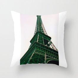 La Tour Eiffel // Eiffel Tower (v2) Throw Pillow