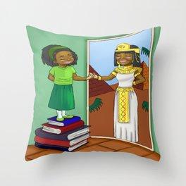Finding my inner Queen Throw Pillow