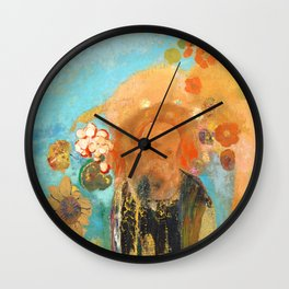 Odilon Redon Exocation of Roussel 1912 Wall Clock